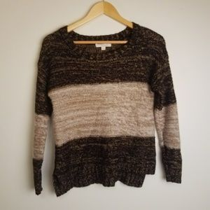 Olive & Oak Brown Sweater Small